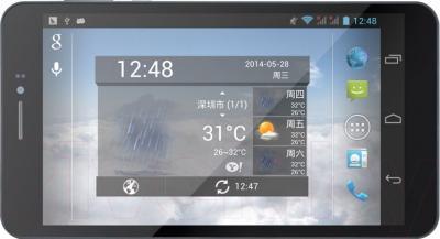 Планшет PiPO Talk-T5 (8GB, 3G, Black) - фронтальный вид