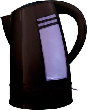 Электрочайник Polly Люкс ЕК-20 (черный) - общий вид