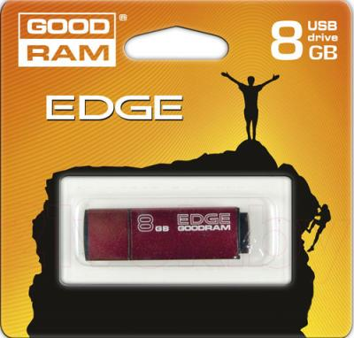 Usb flash накопитель Goodram GOODDRIVE Edge 8 Gb (PD8GH2GREGRSR) - упаковка