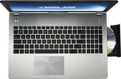 Ноутбук Asus N56JK-CN140D - вид сверху