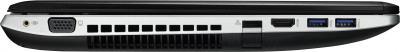 Ноутбук Asus N56JK-CN140D - вид сбоку