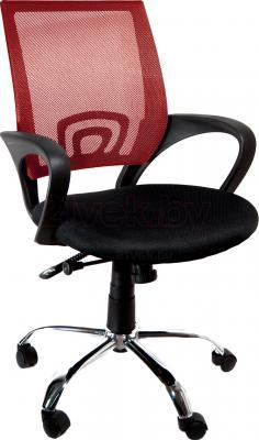 Кресло офисное Деловая обстановка Омега MFT (Red) - общий вид