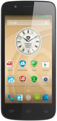 Смартфон Prestigio MultiPhone 5504 Duo (белый) - общий вид