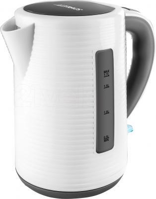 Электрочайник Scarlett SC-EK18P10 (White-Gray) - общий вид