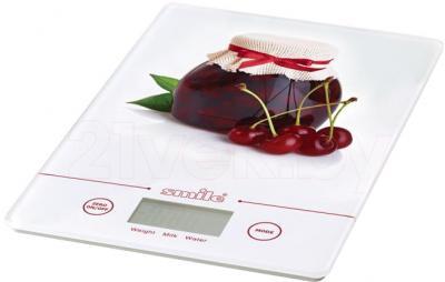 Кухонные весы Smile KSE 3219 (Cherry) - общий вид