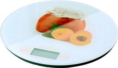 Кухонные весы Smile KSE 3216 (персик) - общий вид