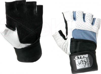 Перчатки для пауэрлифтинга Bulls CG-17054-S - общий вид