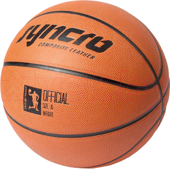 Баскетбольный мяч Arctix Syncro №7 (339-12037) - общий вид