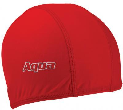 Шапочка для плавания Aqua 352-07304 (красный) - общий вид