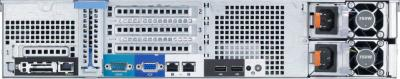 Сервер Dell PowerEdge R520 210-ACCY - вид сзади