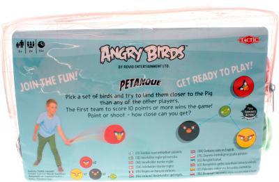 Настольная игра Tactic Angry Birds Петанк (40692) - вид сзади