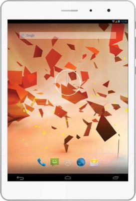 Планшет TeXet NaviPad TM-7855 (8GB, 3G, White-Silver) - фронтальный вид