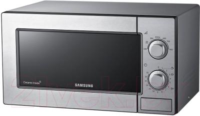 Микроволновая печь Samsung ME81MRTS/BW - вид спереди