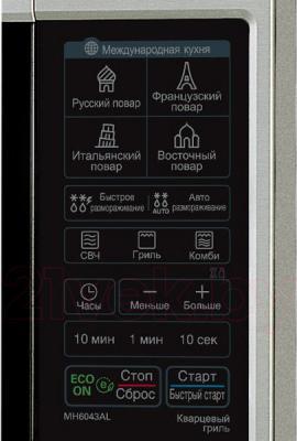 Микроволновая печь LG MH-6043AL - панель управления