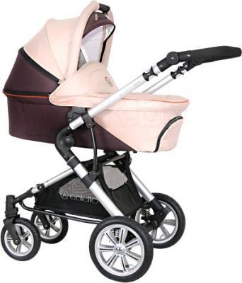 Детская универсальная коляска Coletto Giovanni 3 в 1 (бежевый) - люлька