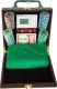Набор для покера NoBrand 6641-M1 (в чемодане, 100 фишек) -