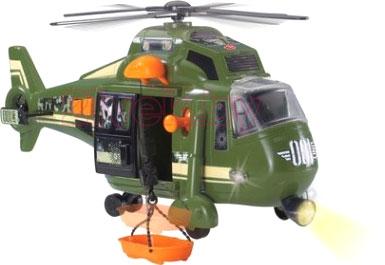 Детская игрушка Dickie Военный вертолет с лебедкой (203308363) - общий вид