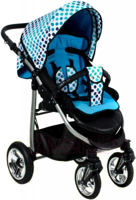 Детская прогулочная коляска Adbor Mio Special Edition (L04) - общий вид