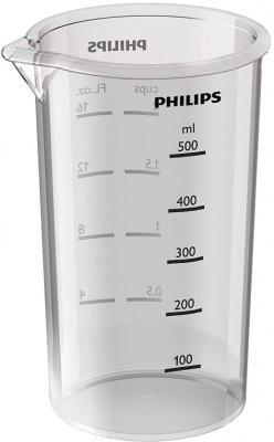 Блендер погружной Philips HR1642/00 - мерный стакан