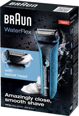 Электробритва Braun WaterFlex WF2s (Blue) - упаковка
