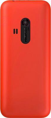 Мобильный телефон Nokia 220 Dual (красный) - вид сзади