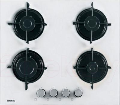 Газовая варочная панель Beko HISG64220SW - общий вид