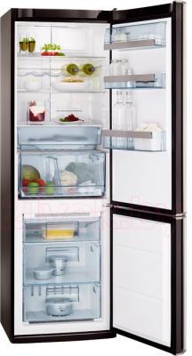 Холодильник с морозильником AEG S83200CMB0 - общий вид