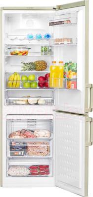 Холодильник с морозильником Beko CN332220AB - общий вид