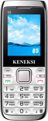 Мобильный телефон Keneksi Q5 (серебристый) - общий вид