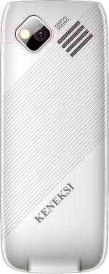 Мобильный телефон Keneksi Q5 (серебристый) - вид сзади
