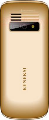 Мобильный телефон Keneksi S1 (золотой) - задняя панель
