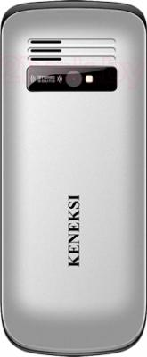 Мобильный телефон Keneksi S1 (серебристый) - задняя панель