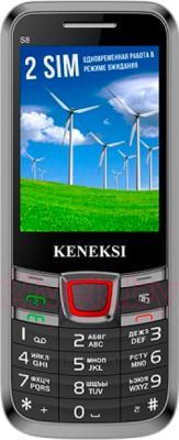 Мобильный телефон Keneksi S8 (Black) - общий вид