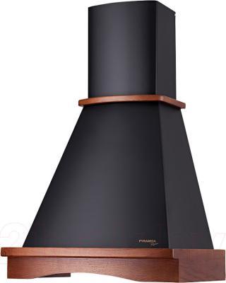 Вытяжка купольная Pyramida R 60 Black Nut/U - общий вид