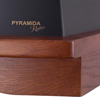 Вытяжка купольная Pyramida R 60 Black Nut/U - большой кант из ореха