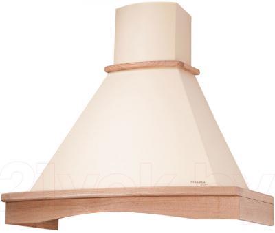 Вытяжка купольная Pyramida R 90 Ivory/U - общий вид