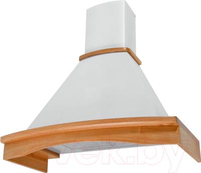 Вытяжка купольная Pyramida R 90 White/U