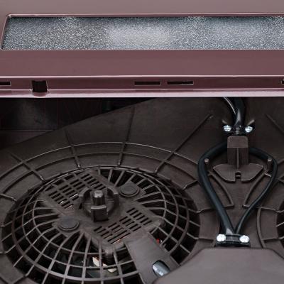 Вытяжка плоская Pyramida WH 22-50 Black/N - пластиковый ключ для работы в режиме отвода