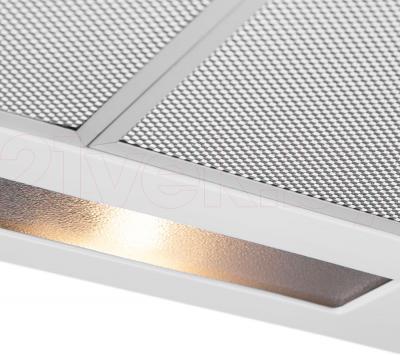 Вытяжка плоская Pyramida WH 22-50 White/N - подсветка