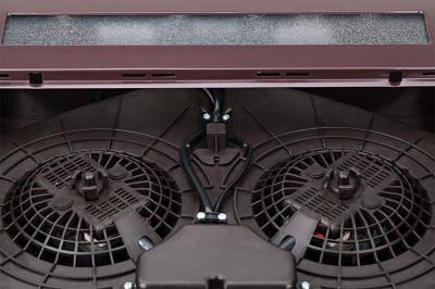 Вытяжка плоская Pyramida WH 22-60 Brown/N - ключ для работы в режиме отвода