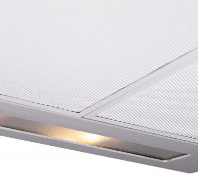 Вытяжка плоская Pyramida WH 22-60 Inox/N - подсветка