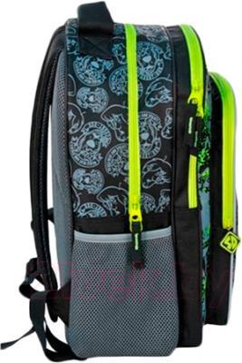Школьный рюкзак Paso SDG-850 - вид сбоку