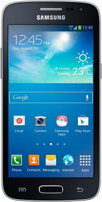 Смартфон Samsung G386F Galaxy Core LTE (Black) - общий вид
