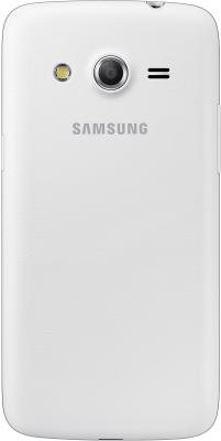 Смартфон Samsung G386F Galaxy Core LTE (White) - вид сзади