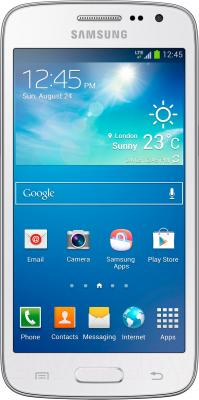 Смартфон Samsung G386F Galaxy Core LTE (White) - общий вид