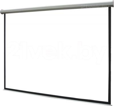 Проекционный экран Classic Solution Norma 274x206 (W 266x198/3 MW-L4/W) - общий вид