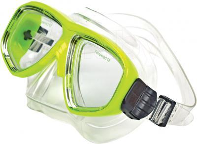 Маска для плавания Aqua 352-07602 (салатовый) - общий вид