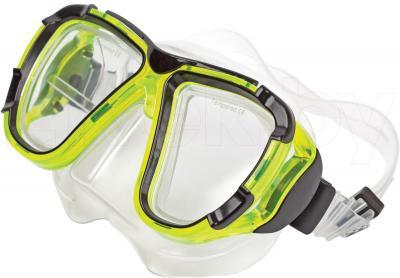 Маска для плавания Aqua 352-07606 (салатовый) - общий вид