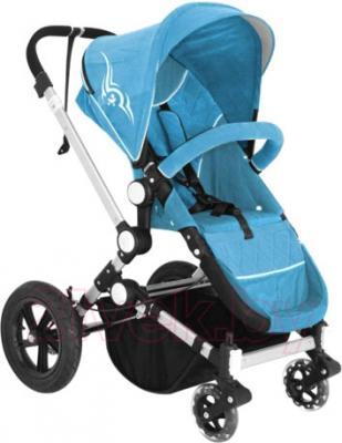 Детская универсальная коляска Lorelli Eclipse (Blue) - общий вид