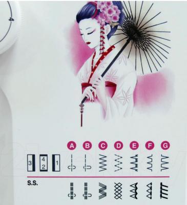 Швейная машина Janome 2020 - строчки